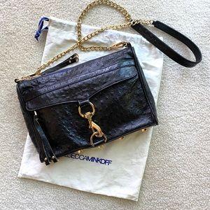 Rebecca Minkoff Ostrich M.A.C Bag